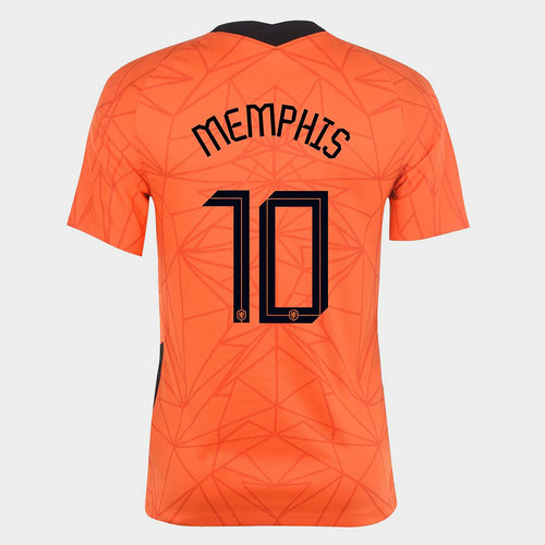 Netherlands Memphis Depay Home Shirt 2020