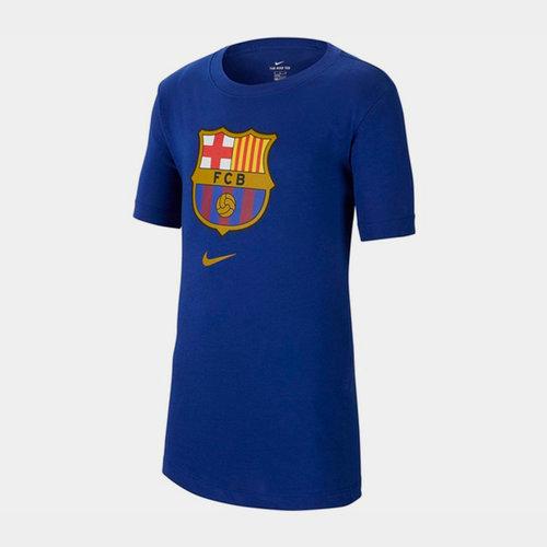 Barcelona Crest T-Shirt 2019 2020 Junior