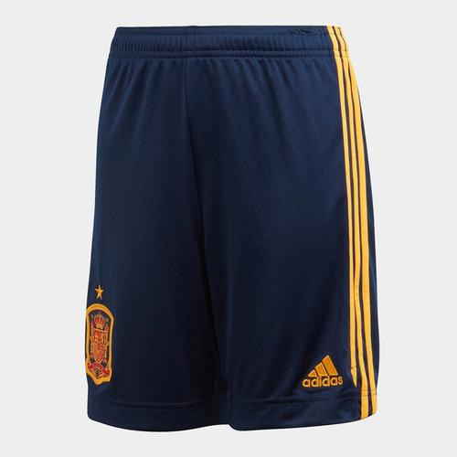 Spain 2020 Home Kids Football Shorts