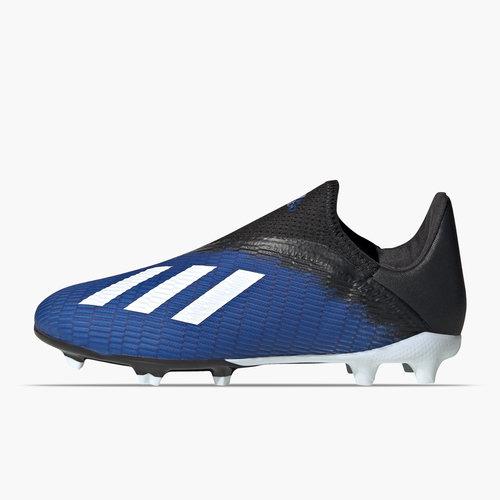 X 19.3 Laceless Junior FG Football Boots