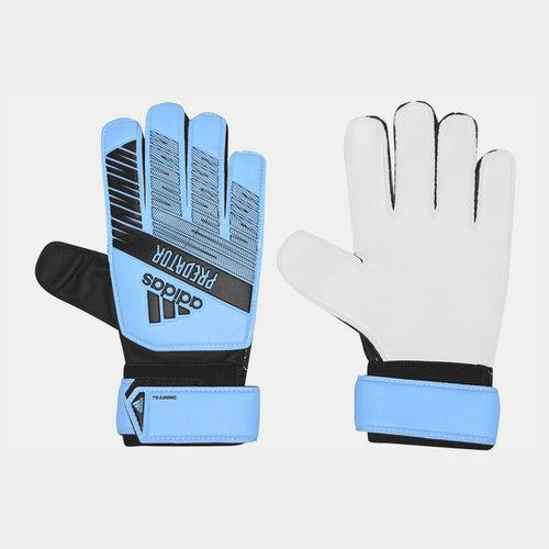 Predator Training Predator Training Finger Save  Goalkeeper Gloves Cyan/Black