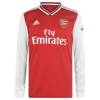Arsenal Long Sleeve 19/20 Home Shirt
