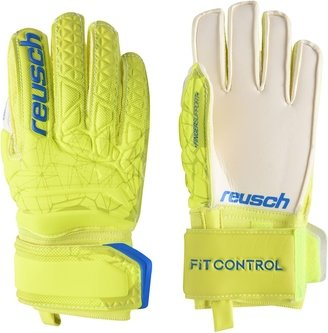 SG Finger Save Glove Lime/Safety Yellow Junior