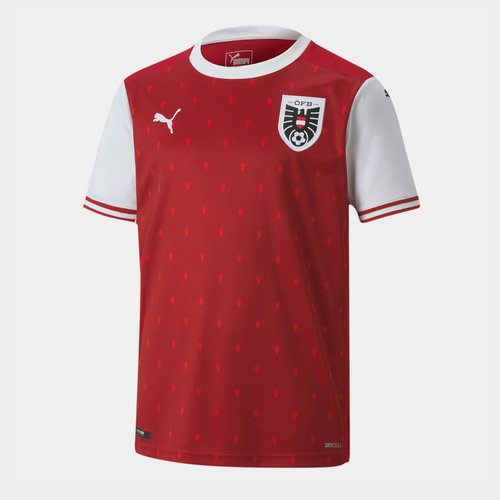Austria 2020 Kids Home Football Shirt