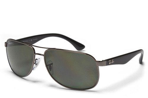 Ray-Ban 3502 Polarized Green Classic Sunglasses