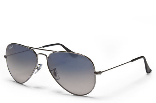 Ray-Ban 3025 004 Aviator Gradient Polarized Sunglasses