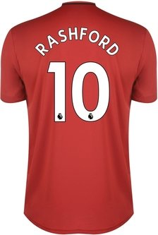 Manchester United Marcus Rashford Home Shirt 2019 2020