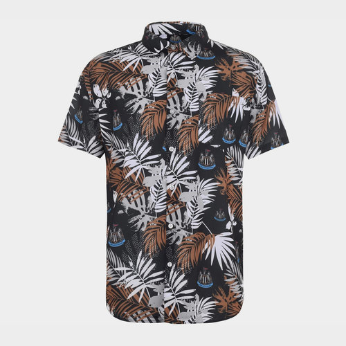Newcastle United Floral Shirt Mens