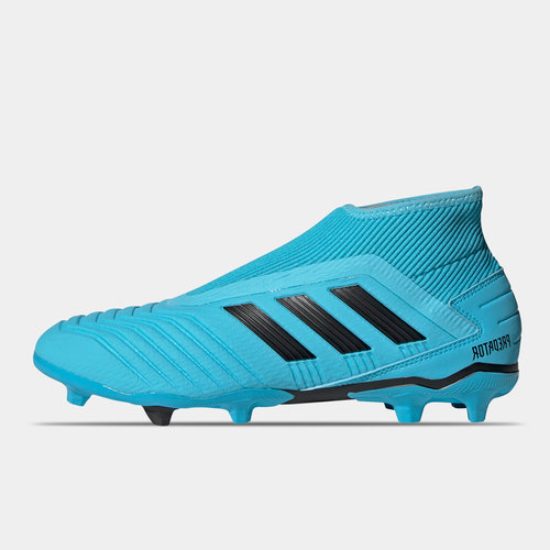 Predator 19.3 Laceless Junior FG Football Boots