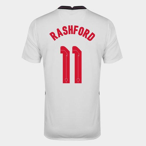 England Marcus Rashford Home Shirt 2020 Junior