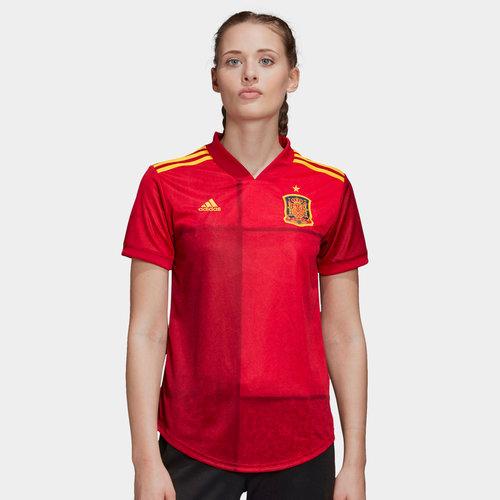 Spain 2020 Home Ladies Replica Football Shirt