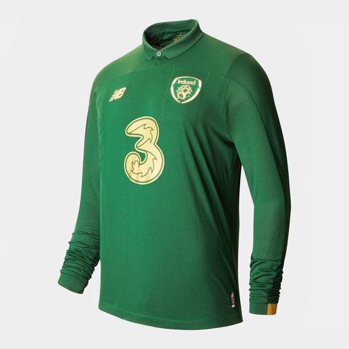 Ireland Long Sleeve Home Shirt 2020