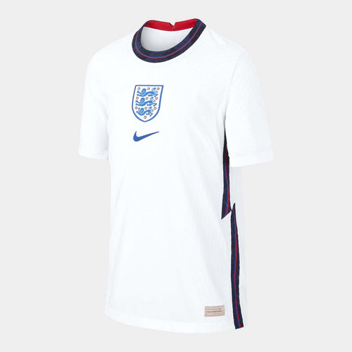 England 2020 Kids Home Authentic Match Football Shirt