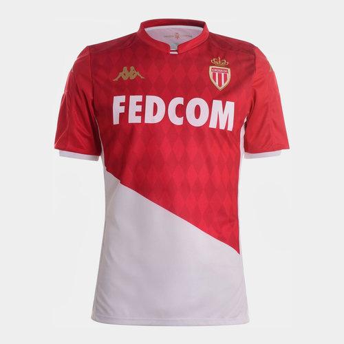 AS Monaco 19/20 Home Shirt Mens