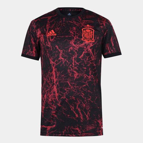 Spain 2020 Pre Match Football Shirt