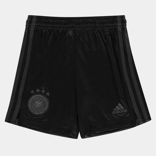Germany 2020 Kids Away Football Shorts