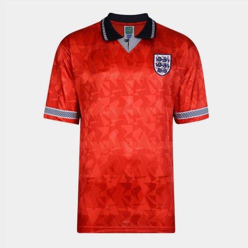 England 90 Away Football Shirt