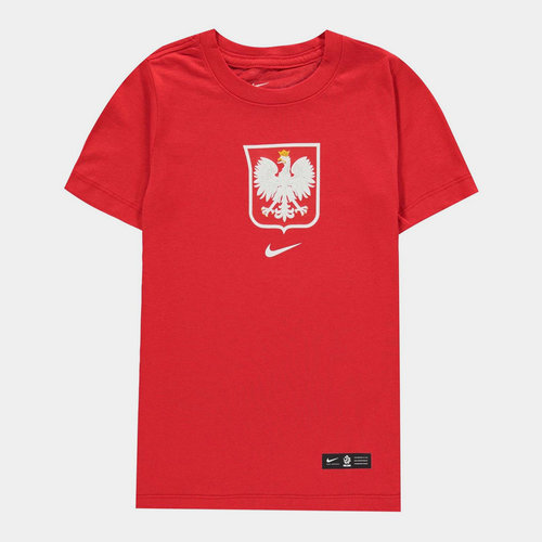 Poland Crest T Shirt 2020 Junior