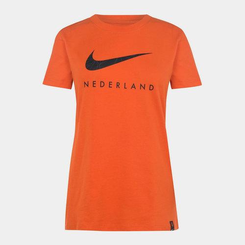 Netherlands T Shirt 2020 Ladies