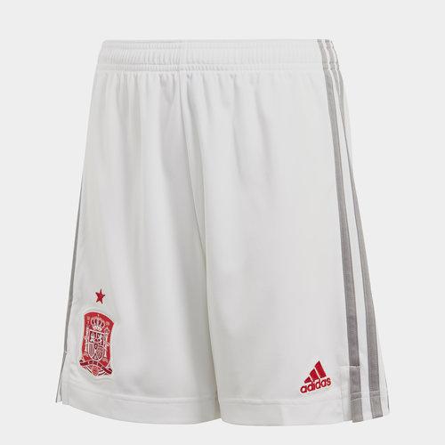 Spain 2020 Kids Away Football Shorts