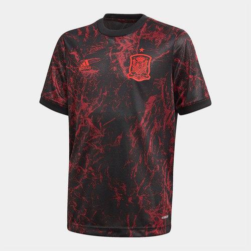 Spain 2020 Kids Pre Match Football Shirt