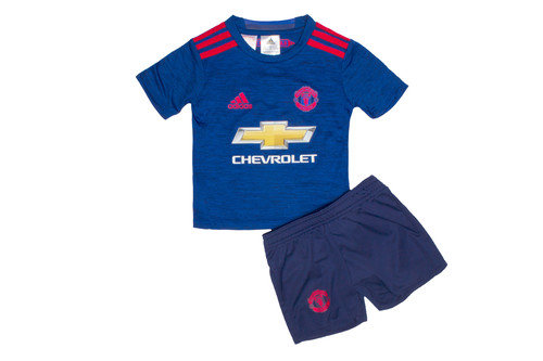 Manchester United 16/17 Away Mini Kids Replica Football Kit
