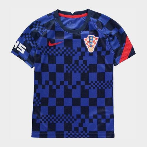 Croatia 2020 Kids Pre Match Football T-Shirt