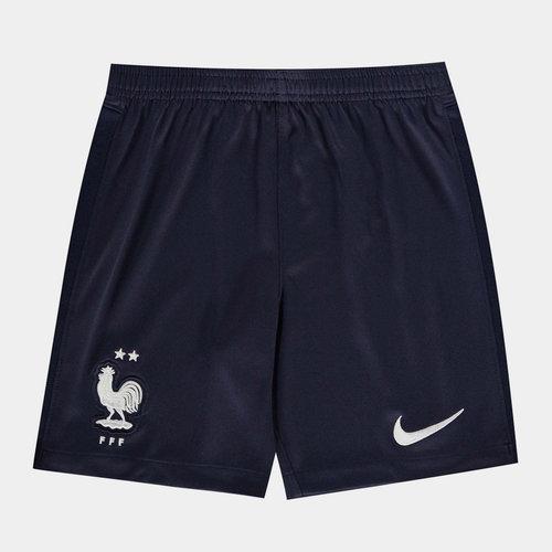 France 2020 Kids Home Football Shorts