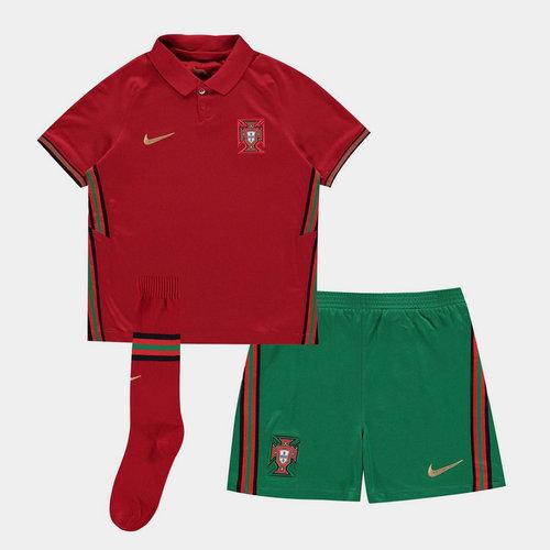 Portugal 2020 Home Mini Kids Football Kit