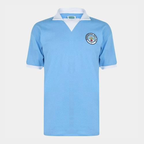 Manchester City 1976 Retro Football Jersey Mens