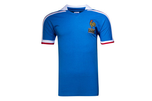 France 1986 World Cup Finals Retro Football Shirt