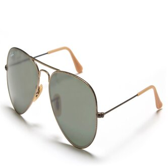 Ray-Ban 3025 177 Aviator Green Classic Sunglasses