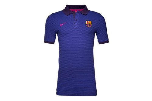 FC Barcelona 16/17 Players Authentic Football Polo Shirt