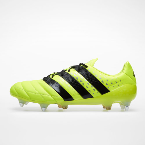 more photos b68a6 7420f adidas Ace 16.1 SG Leather Football Boots, £30.00