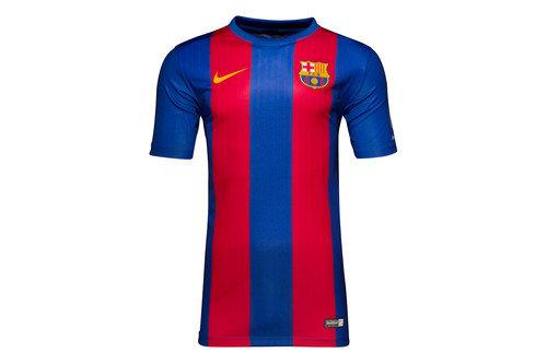 FC Barcelona 16/17 Home Kids Supporters Football T-Shirt