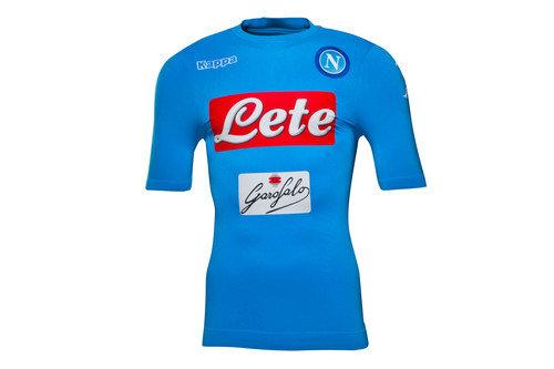 Napoli 16/17 Players Home S/S Football Shirt