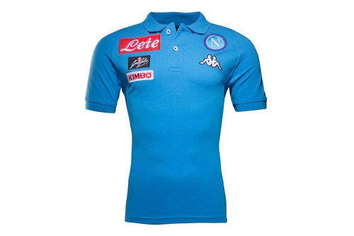 Napoli 16/17 Players Cotton Football Polo Shirt