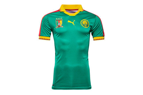 Cameroon 16/17 Home S/S Replica Football Shirt