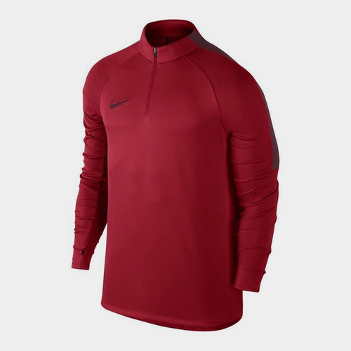 Squad 1/4 Zip L/S Midlayer Training Top