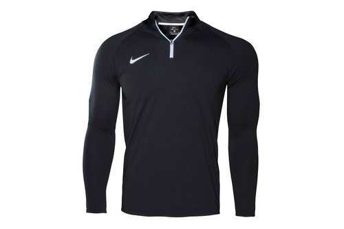 Dry Academy Midlayer Kids 1/4 Zip Football Training Drill Top