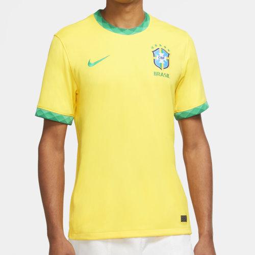 Brazil 2020 Home Football Shirt