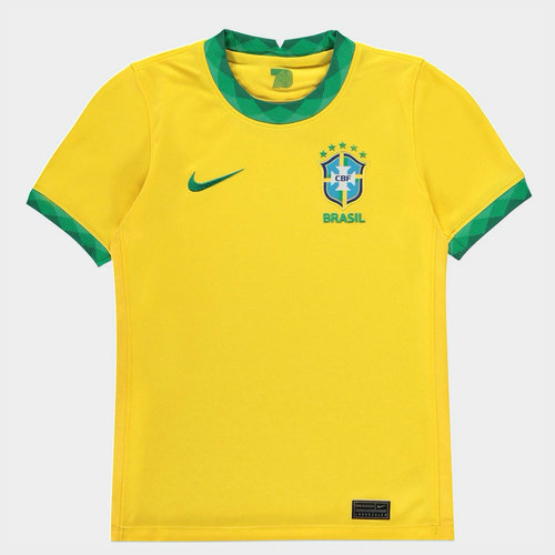 Brazil 2020 Kids Home Football Shirt