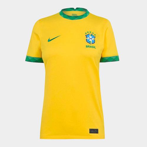 Brasil 2020 Ladies Home Football Shirt