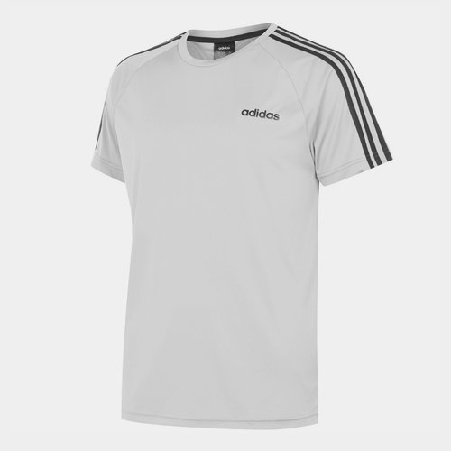 Classic 3 Stripe Sereno T Shirt Mens