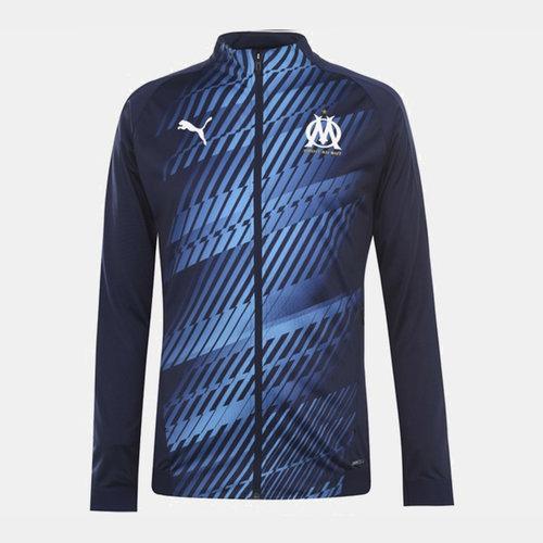 Olympique Marseille Stadim Jacket Mens