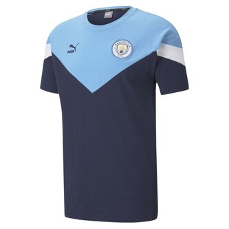 Manchester City Football Club T Shirt Mens