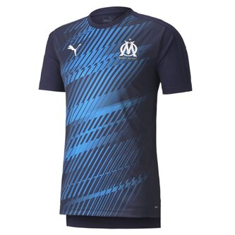 Marseille Stadium Shirt 2019 2020 Mens