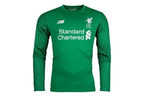 Liverpool FC 17/18 Goalkeeper Home L/S Football Shirt