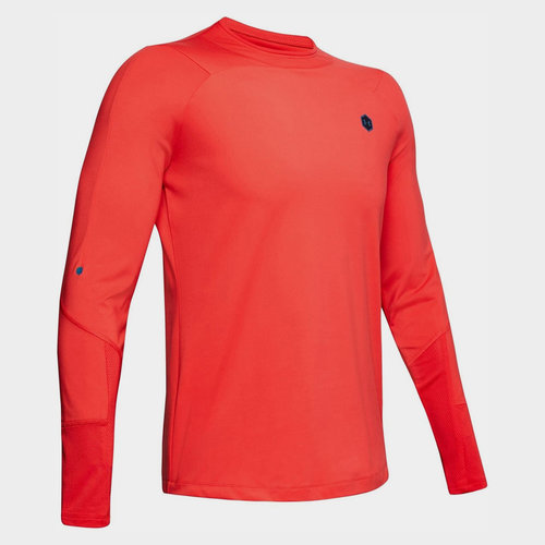 CoolGear Rush L/S Mock Neck Top Mens