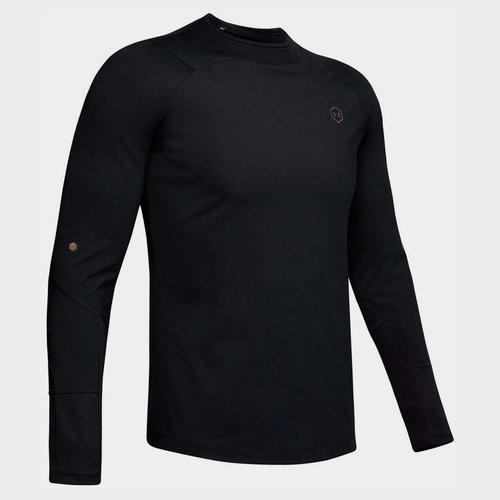 ColdGear Rush Mock T Shirt Mens